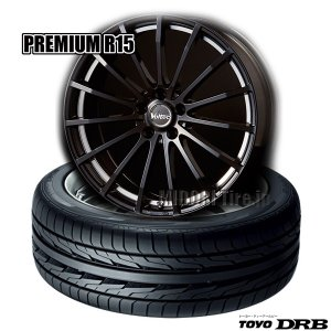 トーヨーDRB & Voltec PREMIUM R15(BK/UP)《165/45R16 74W(4本セット)》|midori-tire