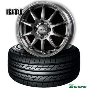ヨコハマDNA ECOS&LCZ010《195/70R14 91S(4本セット)》|midori-tire