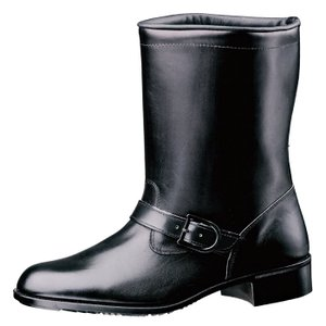 ミドリ安全 ラバー1層底 ゴム底 作業靴 半長靴 MT602TN ブラック 耐滑 防災靴 現場 日本製 midorianzen-com