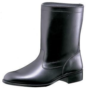 ミドリ安全 ラバー1層底 ゴム底 作業靴 半長靴 MT601T ブラック 耐滑 防災靴 現場 日本製 midorianzen-com