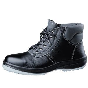 ミドリ安全 安全靴 超耐滑底 ワイド樹脂先芯 中編上靴 HGS320 ブラック|midorianzen-com