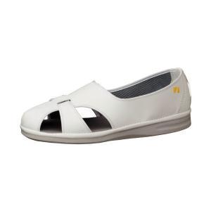 ナースサンダル ミドリ安全 男女兼用 エレパス PS-01S 静電 ホワイト 白 医療 衛生 靴|midorianzen-com