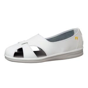 ミドリ安全 男女兼用 ナースシューズ エレパス PS-01S 静電 ホワイト 大サイズ 医療 衛生 靴 midorianzen-com