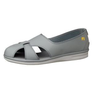 ミドリ安全 男女兼用 ナースシューズ エレパス PS-01S 静電 グレイ 大サイズ 医療 衛生 靴 midorianzen-com
