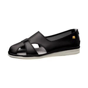 ミドリ安全 ナースサンダル エレパス PS-01S ブラック 黒 静電作業靴 男女兼用 医療 衛生 疲れにくい|ミドリ安全.com PayPayモール店