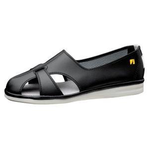 ミドリ安全 男女兼用 ナースシューズ エレパス PS-01S 静電 ブラック 大サイズ 医療 衛生 靴 midorianzen-com