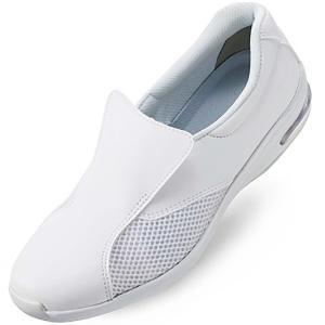 音鳴りしにくい ナースシューズ ミドリ安全 ケアセフティ CSS-501Si ホワイト 白 医療 レディース メディカル 靴|midorianzen-com