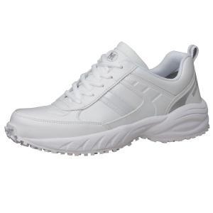 ミドリ安全 ビルメンテナンス業向け 作業靴 BMG-10 ホワイト ローカット|midorianzen-com