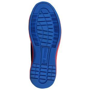 ミドリ安全 スニーカー安全靴 ワークプラスエア WPA-110 ブルー/レッド ローカット おしゃれ|midorianzen-com|05