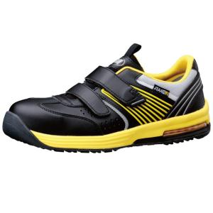 ミドリ安全 ワークプラス エアHG ISA-805 静電 イエロー 先芯入りスニーカー安全靴 ローカット メッシュ 通気性|midorianzen-com
