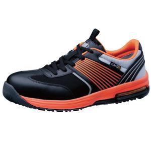 ミドリ安全 ワークプラス エアHG ISA-801 静電 オレンジ 先芯入りスニーカー安全靴 ローカット メッシュ 通気性|midorianzen-com