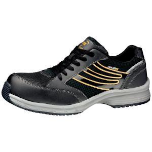 ミドリ安全 スニーカー安全靴 ワークプラス SLS-701 静電 ブラック(ひもタイプ) ローカット|midorianzen-com