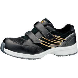ミドリ安全 スニーカー安全靴 ワークプラス SLS-705 静電 ブラック(マジックタイプ) ローカット|midorianzen-com