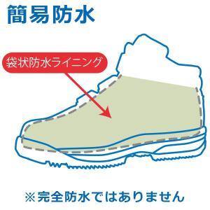 ミドリ安全 簡易防水仕様 寒冷地用 先芯入りスニーカー MPS-155 ブラック 雪 作業靴 安全靴|midorianzen-com|02