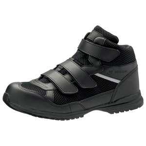ミドリ安全 超耐滑先芯入りスニーカー WPT-125 ブラック メンズ レディース 通気メッシュ 安全作業靴 通気性 蒸れない|midorianzen-com