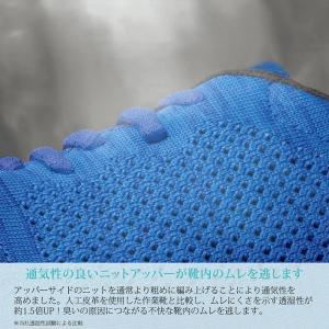 ミドリ安全 先芯入り 作業靴 レディース スニーカー MWJ-710 ブラック ブルー おしゃれ 女性向け ワーク女子力 現場 倉庫 midorianzen-com 09