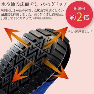 ミドリ安全 先芯入り 作業靴 レディース スニーカー MWJ-710 ブラック ブルー おしゃれ 女性向け ワーク女子力 現場 倉庫 midorianzen-com 10
