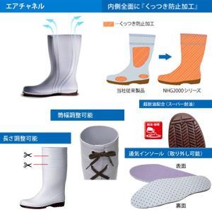 ミドリ安全 超耐滑長靴 ハイグリップ・ザ・サード NHGL2000スーパー ホワイト|midorianzen-com|05