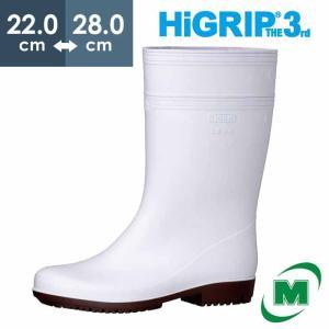 ミドリ安全 超耐滑長靴 ハイグリップ・ザ・サード NHG2000スーパー ホワイト 滑らない靴が必要な職場に おしゃれ かっこいい 厨房 調理|midorianzen-com
