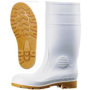 ミドリ安全 安全長靴 ワークエース W1000 ホワイト 耐油性 現場 日本製|midorianzen-com
