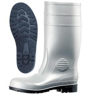 ミドリ安全 安全長靴 ワークエース W1000 グレイ 耐油 耐薬 鋼製先芯 PVC底 現場 日本製|midorianzen-com