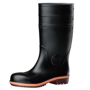 ミドリ安全 安全長靴 プロテクトウズ5 PHG1000スーパー ブラック 大 現場|midorianzen-com