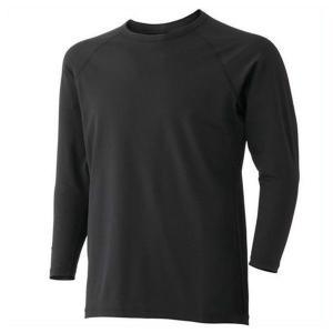 ミドリ安全 男女共用 長袖Tシャツ ウォームインナー FTW11BK 上 ブラック 防寒 秋冬 作業服 作業着 現場|midorianzen-com