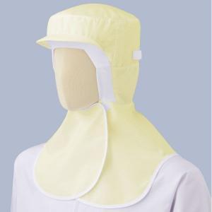 ミドリ安全 フード(ツバ付・マスク掛け・マジックタイプ) SH17Y イエロー 食品産業 加工 厨房 キッチン ウイルス 花粉対策 予防|midorianzen-com