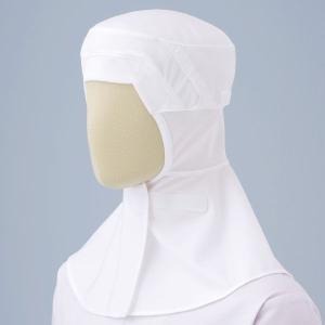 ミドリ安全 フード(ツバ無・マスク掛け・マジックタイプ) SH-111W ホワイト 食品産業 加工 厨房 キッチン ウイルス 花粉対策 予防|midorianzen-com
