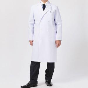 ドクターウェア 男子診察衣ダブル 1531PO-1 ホワイト 白衣 医療 衛生 作業着・服|midorianzen-com