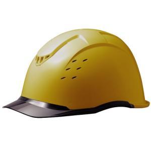 ミドリ安全 クリアバイザー&ベンチレーションヘルメット SC-13PCLV RA KP付 コンドル イエロー/スモーク|midorianzen-com