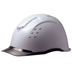 ミドリ安全 クリアバイザー&ベンチレーションヘルメット SC-13PCLV RA KP付 コンドル ホワイト/スモーク 作業用 工事|midorianzen-com