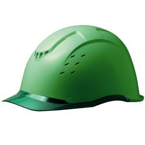 ミドリ安全 クリアバイザー&ベンチレーションヘルメット SC-13PCLV RA KP付 コンドル グリーン/グリーン|midorianzen-com