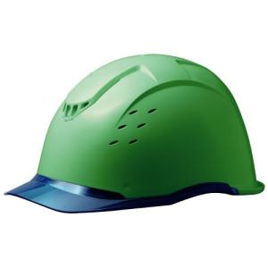 ミドリ安全 クリアバイザー&ベンチレーションヘルメット SC-13PCLV RA KP付 コンドル グリーン/ブルー|midorianzen-com