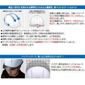 ミドリ安全 ダイヤルラチェットバンド ヘルメット SC-11PCLV DR α 35AB ブラック/スモーク|midorianzen-com|03