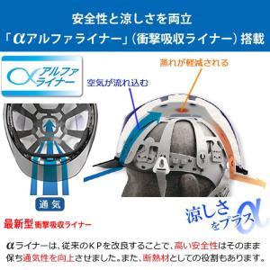 ミドリ安全 ダイヤルラチェットバンド ヘルメット SC-11PCLV DR α 35AB ブラック/スモーク|midorianzen-com|04