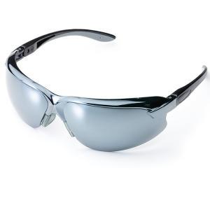 ミドリ安全 保護メガネ ビジョンベルデ MP-821 ミラー サングラス 作業用 日差し 花粉|midorianzen-com