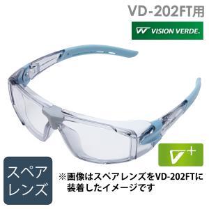 ミドリ安全 ビジョンベルデ VD-202FT用 スペアレンズ 予備 パーツ レンズのみ|midorianzen-com