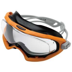 ミドリ安全 保護メガネ ビジョンベルデ VG-503F ゴーグラス(R) オレンジ ゴーグル型メガネ|midorianzen-com