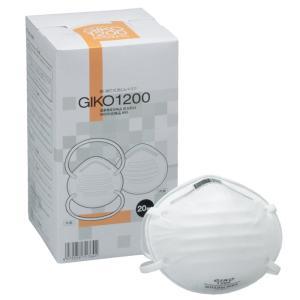 N95・DS2マスク 感染防止用 GIKO-1200 (20枚入)|midorianzen-com