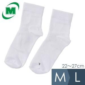 ミドリ安全 アクセステーピングソックス ホワイト M L 靴下 作業用 先丸タイプ|midorianzen-com