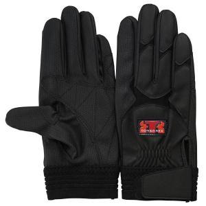 トンボレックス 合成皮革手袋 E-838BK 薄手 ガンカット ブラック S〜LL|midorianzen-com