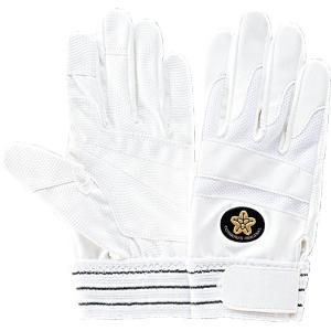 トンボレックス 合成皮革手袋 E-843WD 白 ホワイト SS〜LL|midorianzen-com