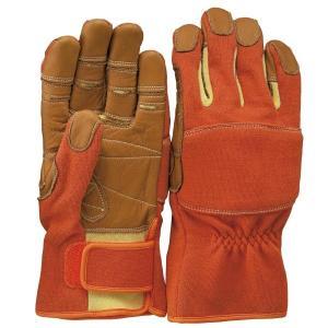 トンボレックス ケブラー(R) 繊維製手袋 K-TF2R オレンジ S〜LL|midorianzen-com