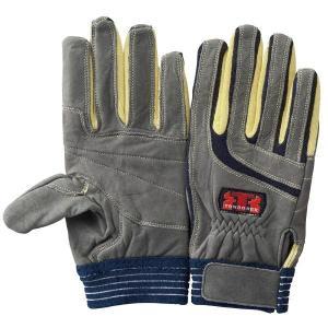 トンボレックス ケブラー(R)繊維製手袋 K-505NV ネイビー SS〜LL|midorianzen-com