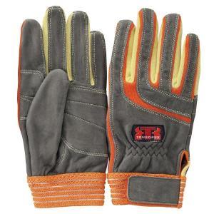 トンボレックス ケブラー(R) 繊維製手袋 K-505R オレンジ S〜LL midorianzen-com