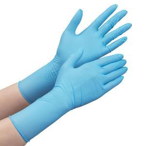 ミドリ安全 ニトリル手袋 ベルテ756H ブルー SS〜LL レギュラータイプ パウダーフリー 粉なし 100枚 使い捨て手袋|midorianzen-com