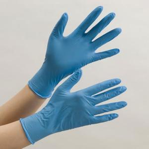 ミドリ安全 ニトリル手袋 ベルテ737 キマックスセブンスセンス SS〜LL ブルー 薄手タイプ 粉なし 100枚 使い捨て|midorianzen-com|02