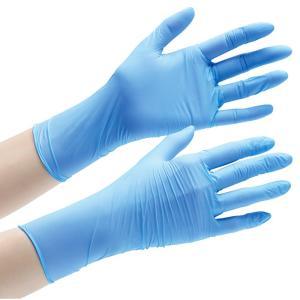 ミドリ安全 ニトリル手袋 アクセラレーターフリー ベルテ722 VERTE722 SS〜LL ブルー 粉無 100枚 手にやさしい 使い捨て|midorianzen-com|03