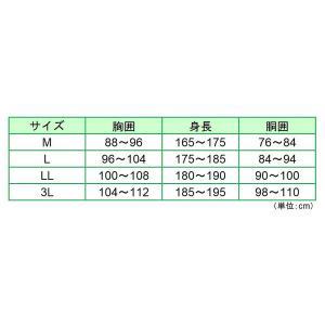 蜂防護インナー ハチ・ガードウェア 5HGW-M1 Mサイズ スズメバチ 蜂 防護服|midorianzen-com|02